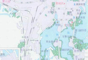湖北省鄂州地图_