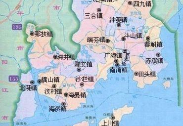 【台山地图】_台山在哪里_台山怎么走_途牛 图片
