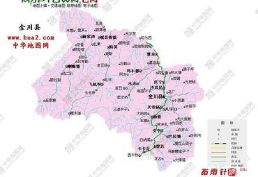 四川地图全图
