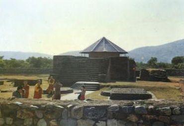 那烂陀(narlanda)的名胜主要是那烂陀寺