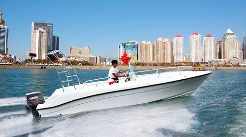 青岛奥林匹克帆船中心海上观光