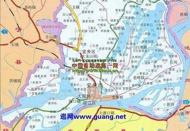 【安庆地图】安庆全图查询_2015安徽安庆电子地图下载图片