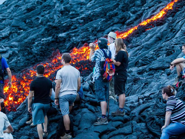 <夏威夷大岛深度探索3晚4日游>大岛希洛接送机,火山国家公园,彩虹瀑布,火山口夜游/天文台观星可选(当地游)