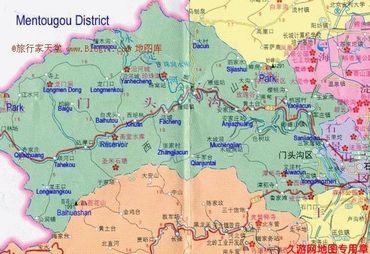 【门头沟区地图】门头沟区全图查询_2017北京门头沟区