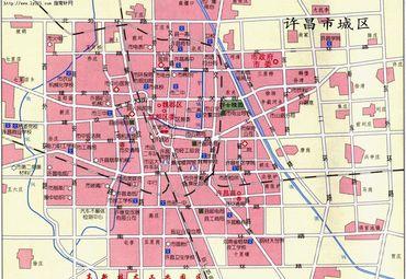【许昌地图】许昌全图查询_2018河南许昌电子地图下载