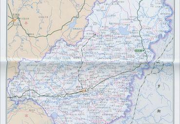 黑龙江省虎林市地图