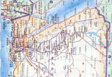 【埃及地图中文版】埃及全图查询_2017非洲埃及电子