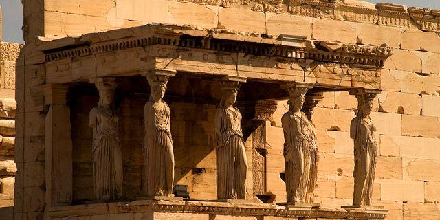 帕特农神庙风景图片