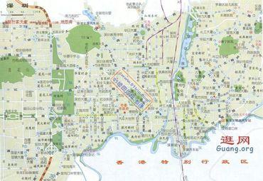 【南山区地图】南山区全图查询_2018广东深圳南山区
