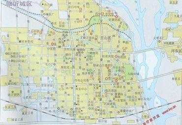 【临沂地图】临沂全图查询_2017中国山东临沂电子地图