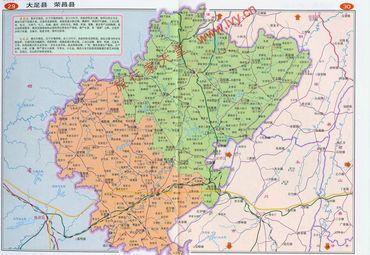 荣昌区地图