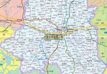 【六安地图】六安全图查询_2016中国安徽六安电子地图