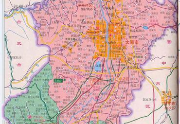 山西太原地图全图