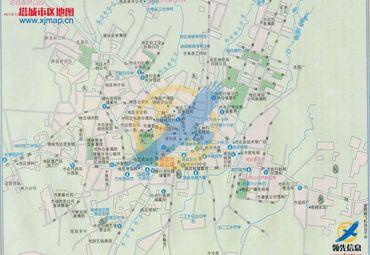 塔城城区地图