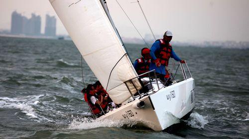 帆船出海体验之旅项目 a:法国进口博纳多/美国j80帆船出海体验约70