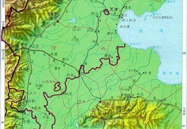 河北省地图