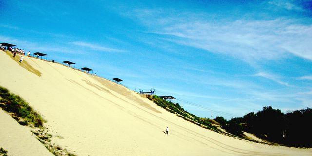 昌黎国际滑沙中心风景图片