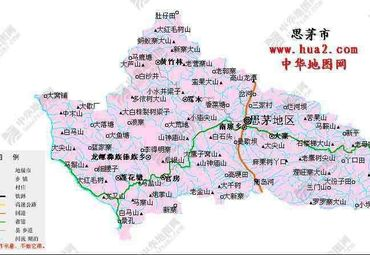 云南大理手绘地图下载