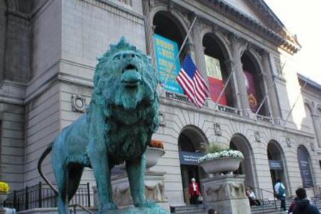 <芝加哥一日当地游>(当地参团)游览芝加哥大剧院