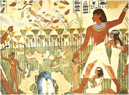 古埃及壁画图片