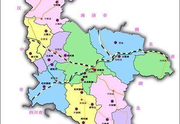 【安康地图】安康全图查询_2018陕西安康电子地图下载