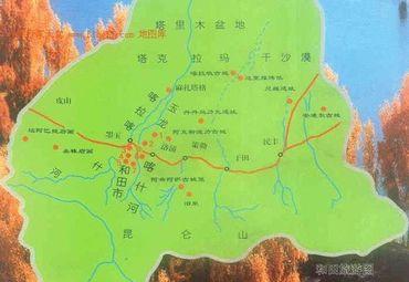 【和田地图】和田全图查询_2017新疆和田电子地图下载
