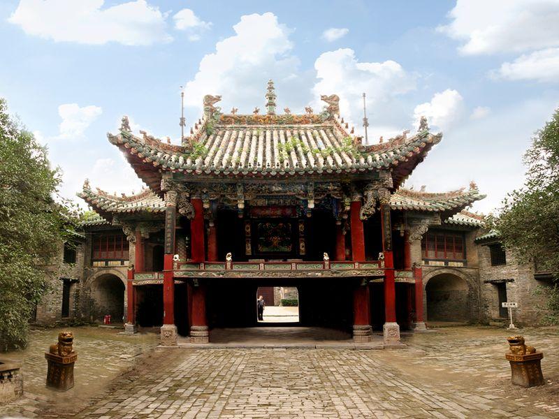 亳州亳州花戏楼旅游图片