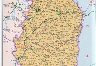重庆市石柱县地图