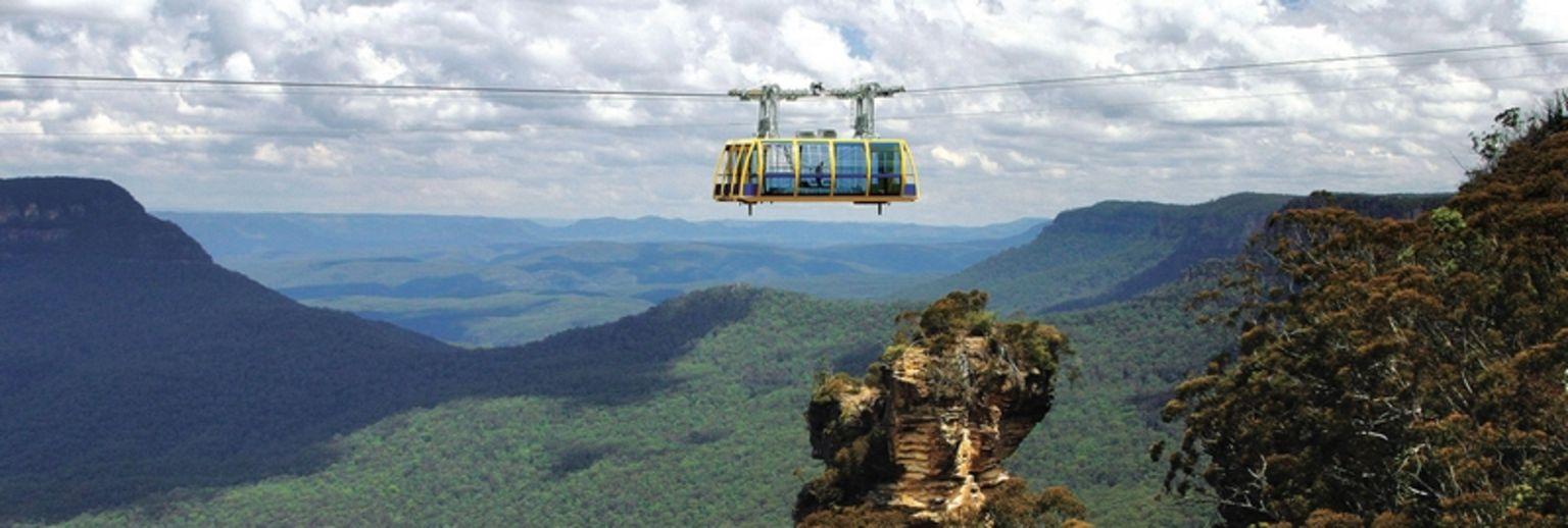 澳大利亚-蓝山-缆车