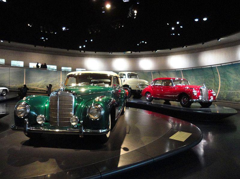 奔驰博物馆 Mercedes benz Museum旅游 图 奔驰博物馆