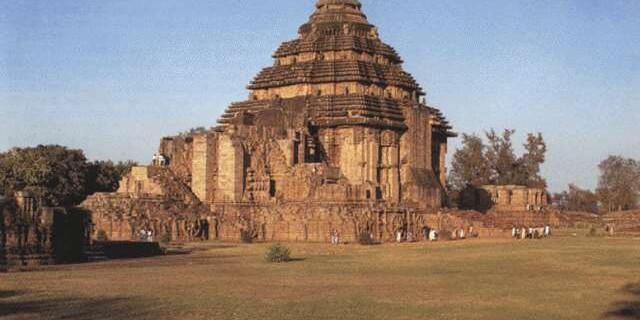 科纳拉克太阳神庙风景图片