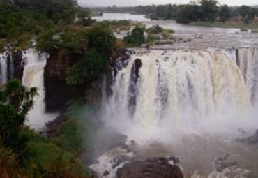 【青尼罗河瀑布图片】青尼罗河瀑布风景图片_旅游景点