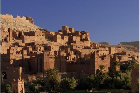 <北非谍影摩洛哥7日6晚奇幻之旅游>卡萨布兰卡集散、摩洛哥深度游览、摩洛哥电影基地、阿伊本哈杜、蓝色小镇舍万沙夫(当地参团)