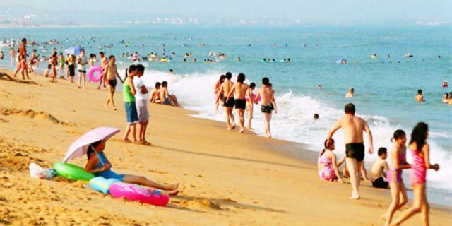 金沙滩风景