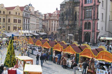 <捷克布拉格3晚4日深度游>法兰克福集散、布拉格城堡、人骨教堂、CK小镇、中文导游(当地游)