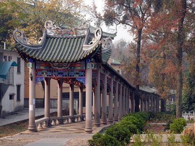 南华寺长廊