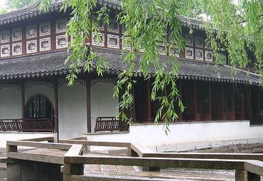 苏州博物馆图片   拙政园