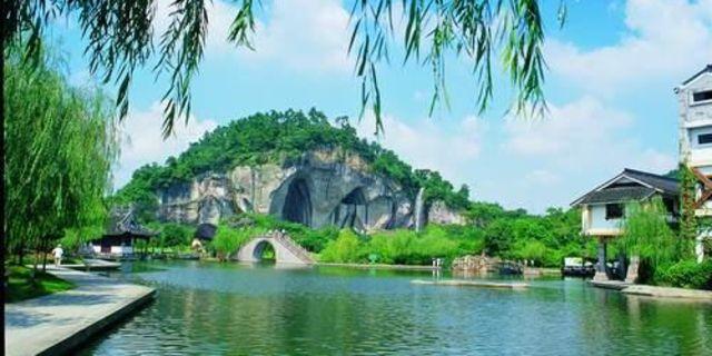 【镜水飞瀑图片】绍兴县风景图片_旅游景点照片_途牛