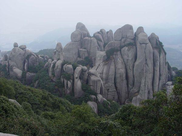太姥山风景区,位于福建省福鼎