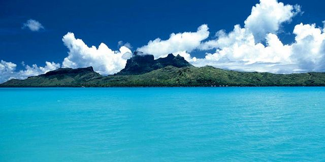 黄岩岛风景图片