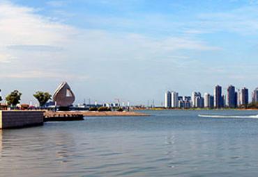 【金鸡湖图片】金鸡湖风景图片_旅游景点照片_途牛