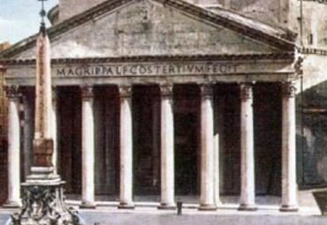 万神庙pantheon图片