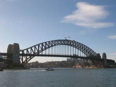 悉尼大桥风景