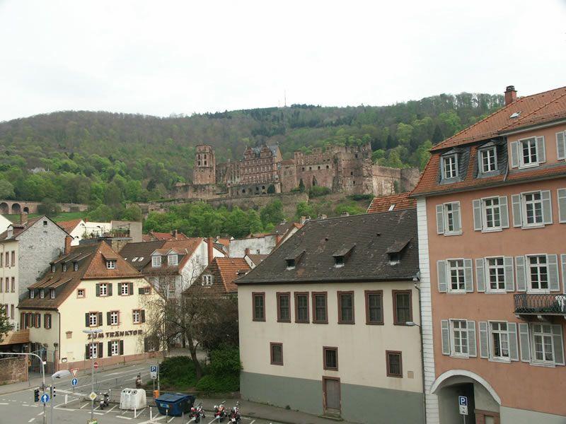 眺海德堡城堡