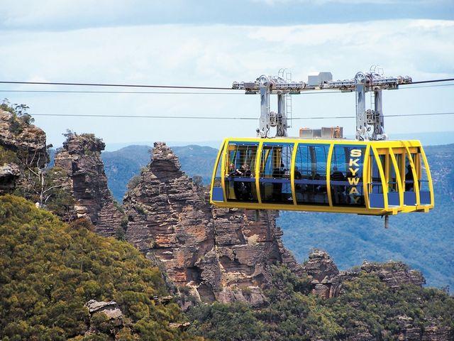 <澳大利亚悉尼蓝山一日游>含三种缆车(当地参团)