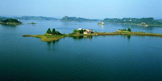 重庆长寿湖风景图片