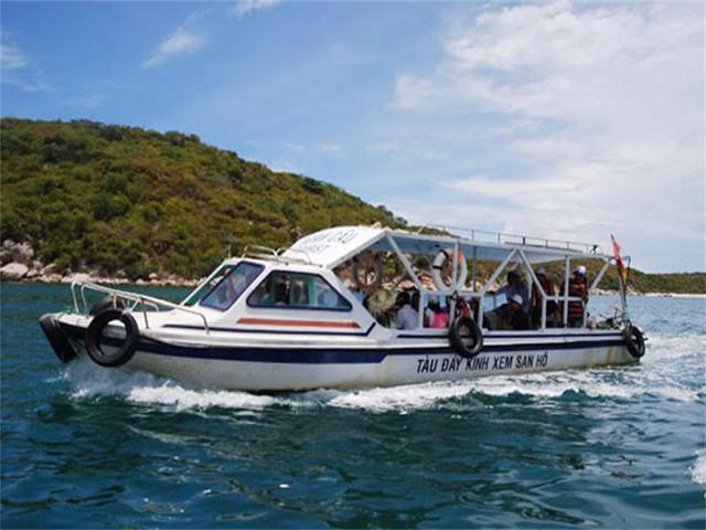 【包船出海】<越南芽庄租船1日游>智源水族馆-黑岛-第一岛-蚕岛路线