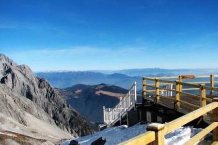 香格里拉 昆大丽双飞6日游 精华景点,一价全含,石卡雪山图片
