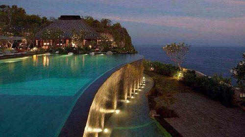 巴厘岛4晚6日游>宝格丽海景别墅,水上发呆亭,热石spa