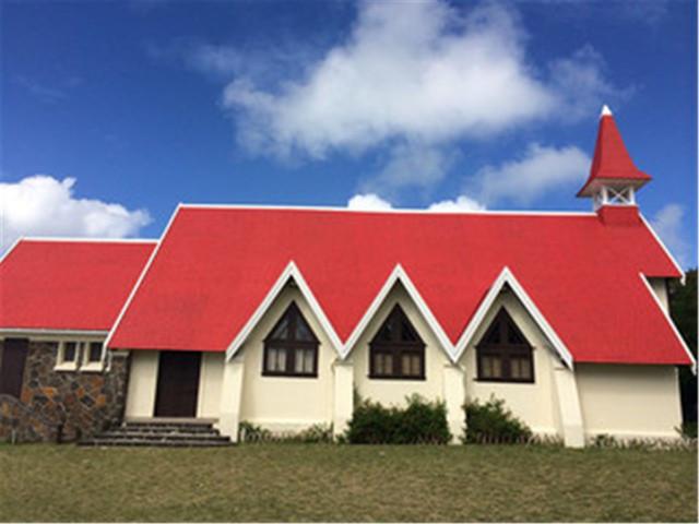 <毛里求斯路易港北线红顶教堂+蔻丹广场1日游>(周二周六送中文导游)送特产红茶